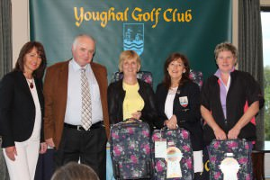 Winners Lady Captain's Benefit - sponsor Jim O Connell