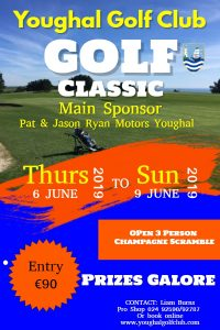 Open Competitions - Youghal Golf Club