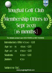 Membership offer May 2020